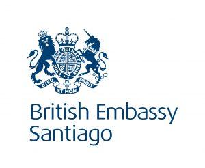 British Embassy Santiago logo